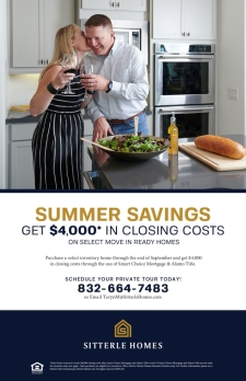 Get $4,000 in Closing Costs During Our Summer Savings Event