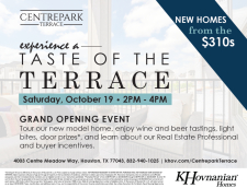 Get a Taste of the Terrace with our Grand Opening Event!