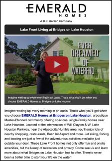 LAKE FRONT LIVING on Lake Houston
