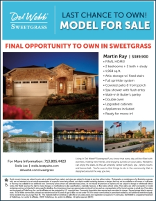 Last Chance - Model Home for Sale in Sweetgrass!