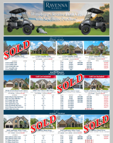 Receive a Golf Cart with New Home Purchase!*