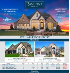 Reduced Pricing on Available Inventory!