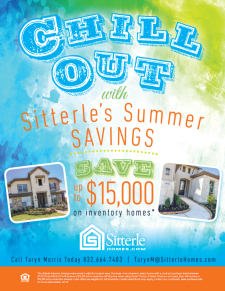 Save up to $15,000 on inventory homes!*