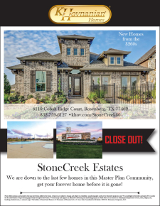 StoneCreek Estates - Closeout!