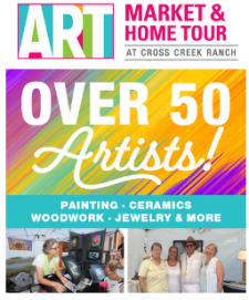 This Saturday! Art Market & Home Tour With Fun Events