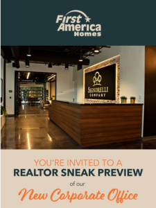 This Tuesday! Our Realtor Happy Hour Starts at 4 pm.