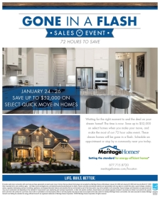 This Weekend Only! Savings up to $52,000 in our Gone in a Flash Sales Event!