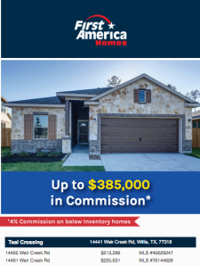 Up to $385,000 in commission 😱
