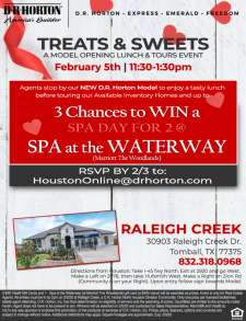 Want a Spa Day for 2? RSVP NOW!