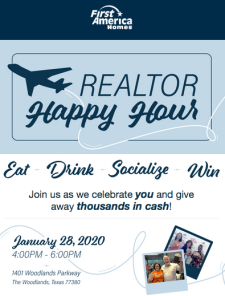 You're Invited | Realtor Happy Hour on January 28!