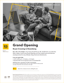 You're Invited to the Broker Grand Opening at Bryan Crossing!