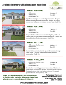$2,000 Realtor Bonus and $10,000 in Closing Costs for Your Buyer