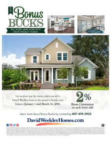 2018 Bonus Bucks Program - Earn 2% Bonus*