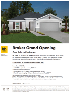 Broker Grand Opening in Casa Bella - Tour Model Homes, Enjoy Lunch & Refreshments!