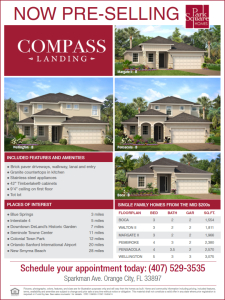 Compass Landing Now Pre-Selling