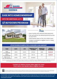 Ease into Homeownership