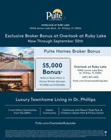 Exclusive Broker Bonus at Overlook at Ruby Lake