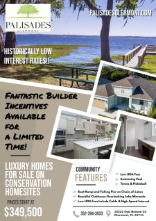 Fantastic Builder Incentives Available for a Limited Time!