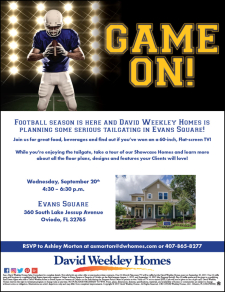 """Game On! Tailgate With Us at Evans Square and Win a 60"""" TV"""
