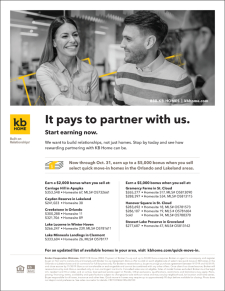 It Pays to Partner with KB Home