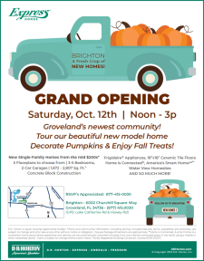 Join Us for the Grand Opening at Brighton!