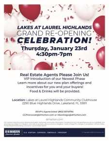 Join us for a Grand Re-Opening Celebration!