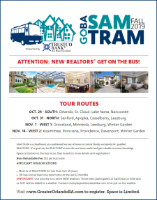 Sam Tram 2019 - 4 Great Routes to Learn New Home Market!