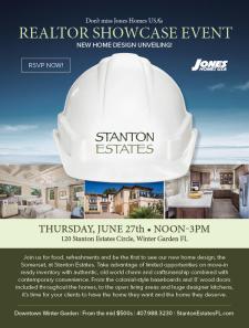 Stanton Estates Showcase Event - 6/27 in Winter Garden