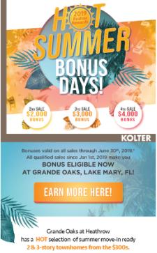 Summer 2019 Realtor Bonus Rewards