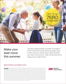 Summer Savings - ZERO Closing Costs!*