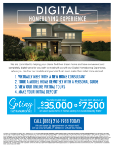 Try out our new Digital Homebuying Experience at the Spring Eggstravaganza Sale!