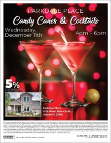 You're Invited to Candy Canes and Cocktails at Parkdale Place!