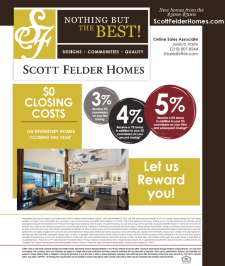 $0 Closing Costs on Inventory Homes Closing This Year