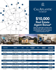$10,000 Real Estate Agent Bonus on These Listed Homes!*