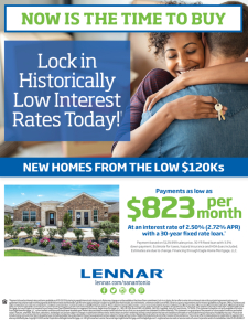 2.5% RATE! Historically Low!