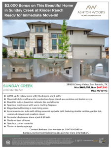 $2,000 Bonus on This Home in Sunday Creek