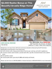 $2,000 Realtor Bonus on This Beautiful Arcadia Ridge Home!