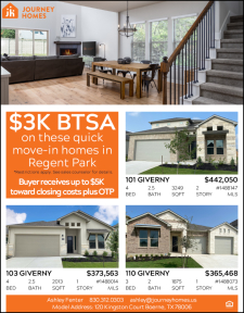 $3,000 BTSA on these Quick Move-In Homes in Regent Park!