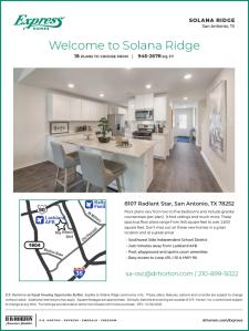 4% Commission in Solana Ridge