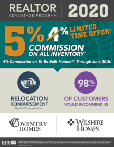 5% Commission on ALL Inventory!