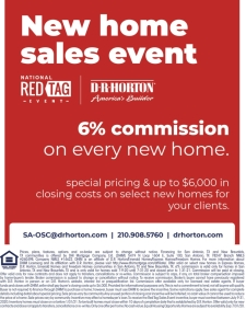 6% Commission Still Available on All Homes!