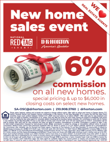 6% Commission on ALL HOMES during the Red Tag Sales Event