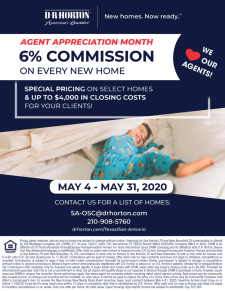 6% Commission on EVERY NEW HOME