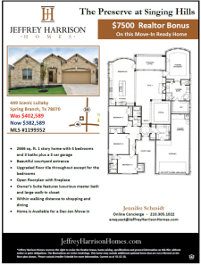 $7500 Agent Bonus and Special Pricing on this Beautiful Move-In Ready Home!