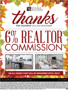 AGENTS Receive 6% Commission on All Homes*