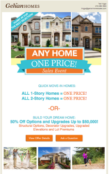 Any Home One Price Sales Event Going On Now!