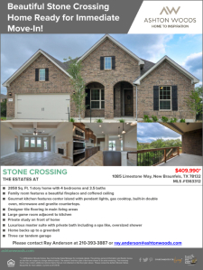 Beautiful Move-In Ready Home at Stone Crossing
