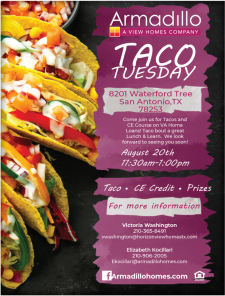 CE Course on VA Home Loans + Tacos!