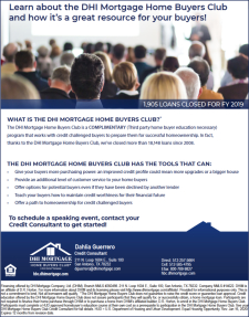 Complimentary Program for Credit Challenged Buyers!