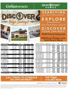 Discover Huge Savings - $5,000 Towards Closing Costs & Free Move-In Package!*
